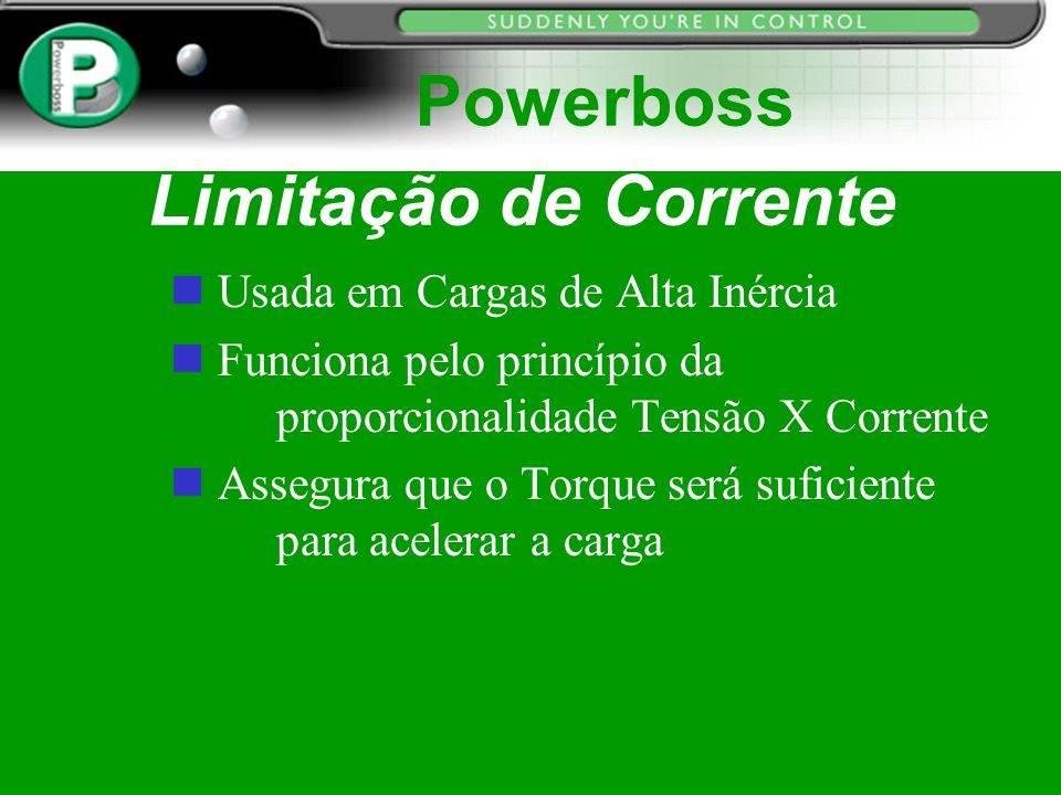 Powerboss Limitação de Corrente