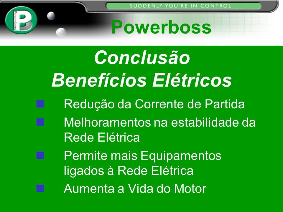 Conclusão Benefícios Elétricos