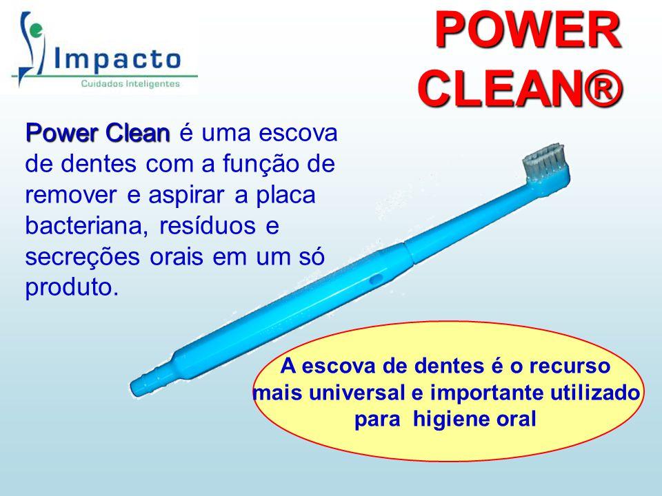 A escova de dentes é o recurso mais universal e importante utilizado