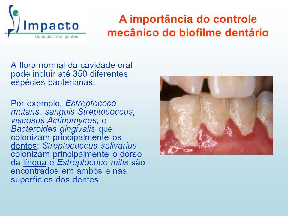 A importância do controle mecânico do biofilme dentário