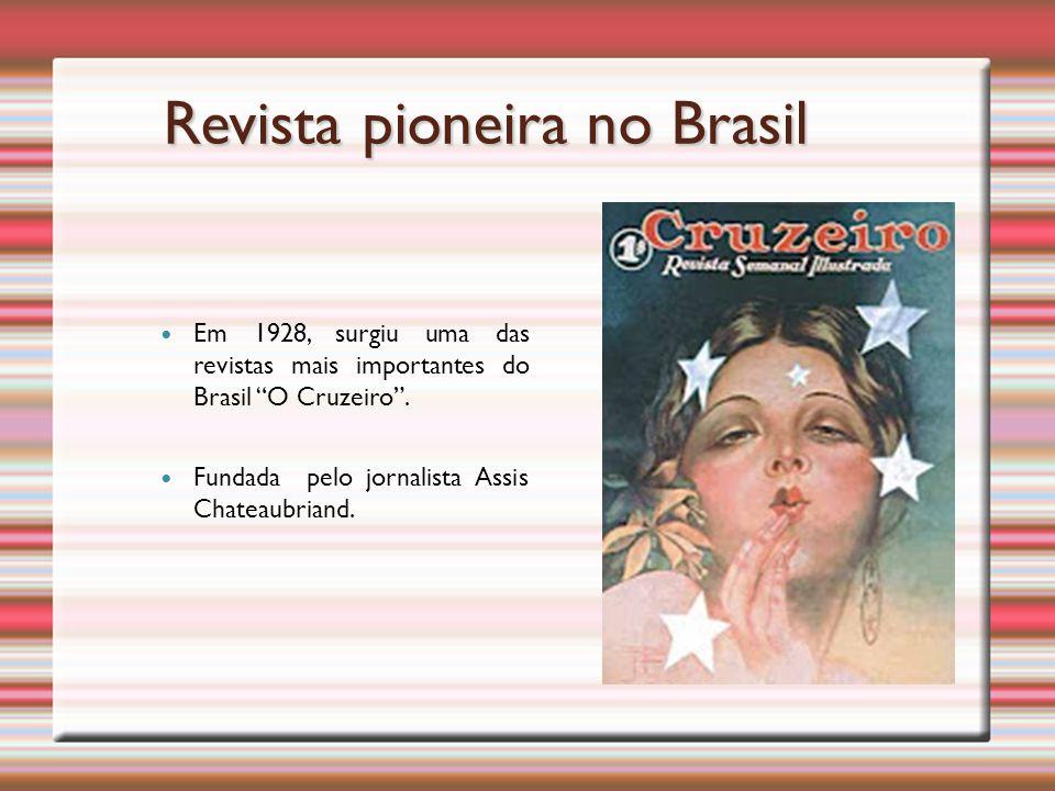Revista pioneira no Brasil