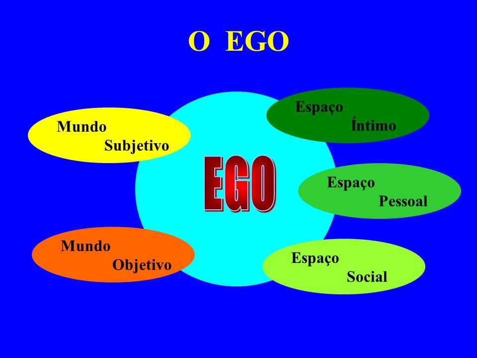 EGO O EGO Espaço Íntimo Mundo Subjetivo Espaço Pessoal Mundo Objetivo