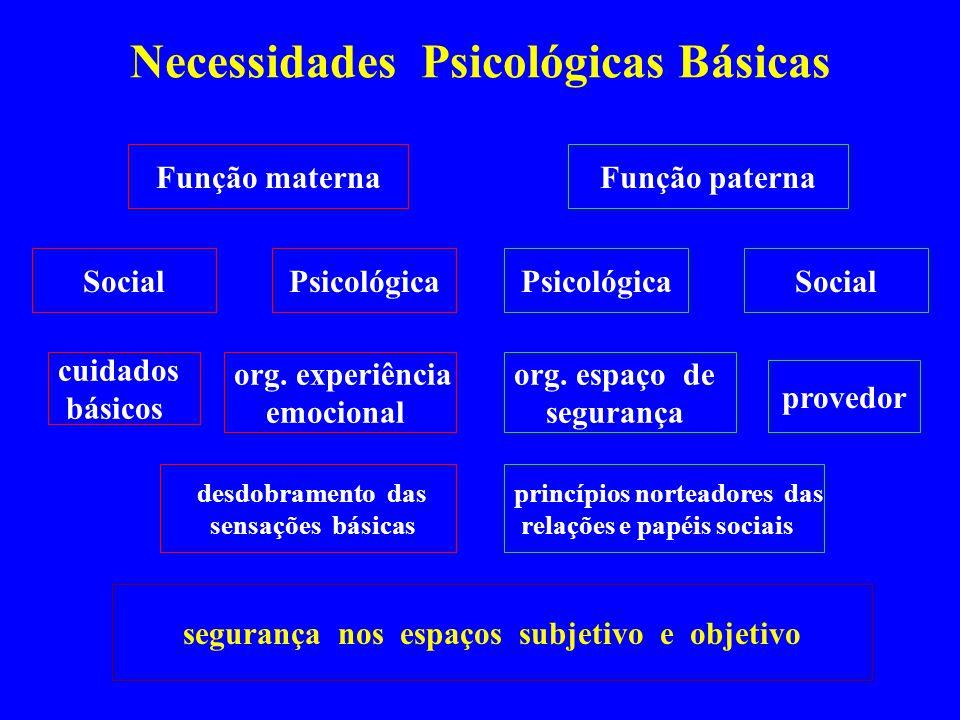 Necessidades Psicológicas Básicas