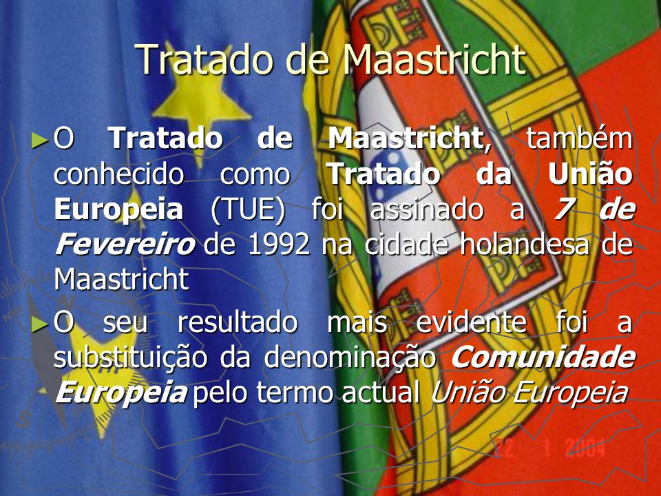 Tratado de Maastricht
