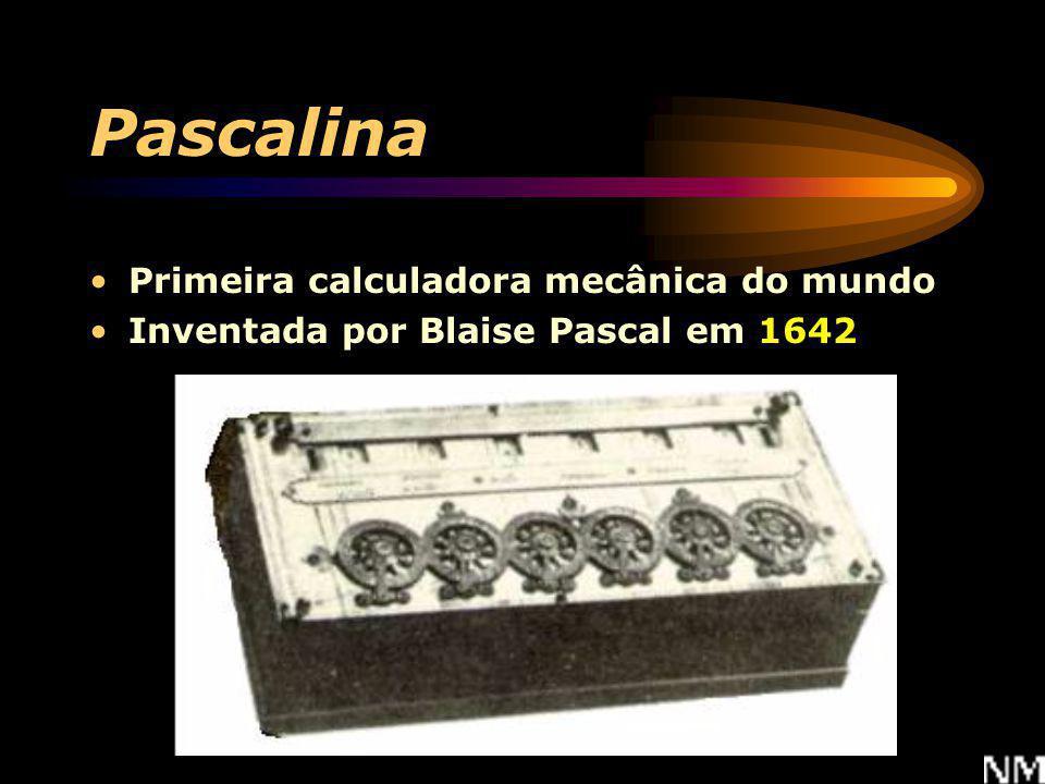 Pascalina Primeira calculadora mecânica do mundo