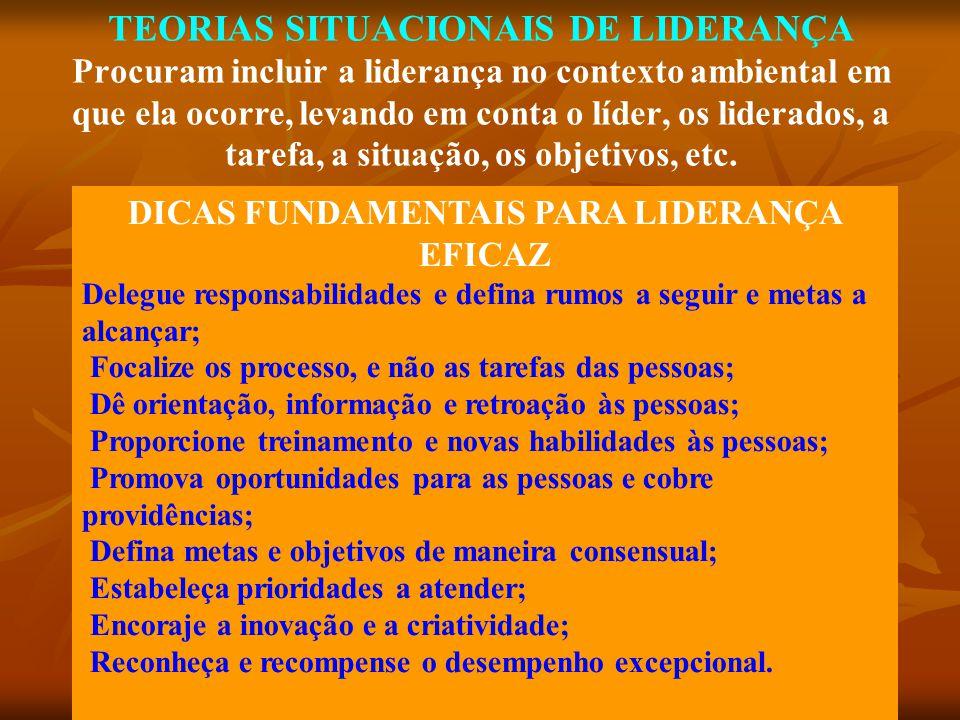 DICAS FUNDAMENTAIS PARA LIDERANÇA EFICAZ
