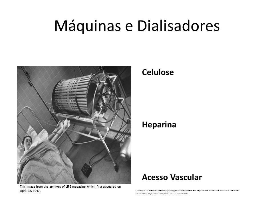 Máquinas e Dialisadores