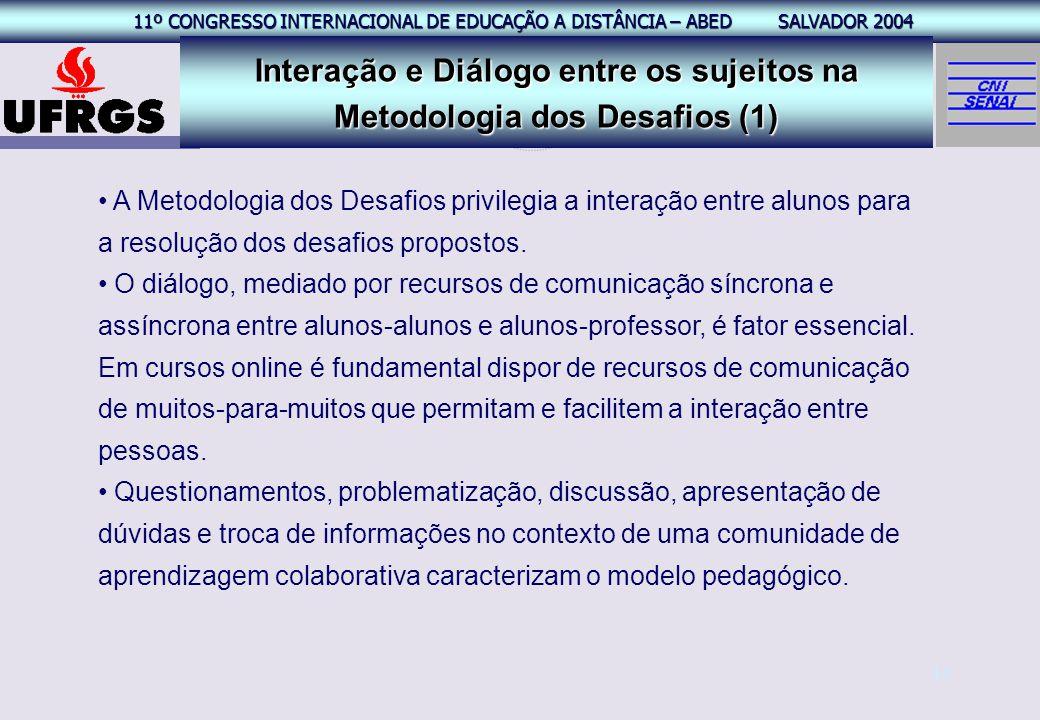 Interação e Diálogo entre os sujeitos na Metodologia dos Desafios (1)