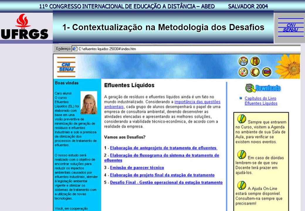 1- Contextualização na Metodologia dos Desafios