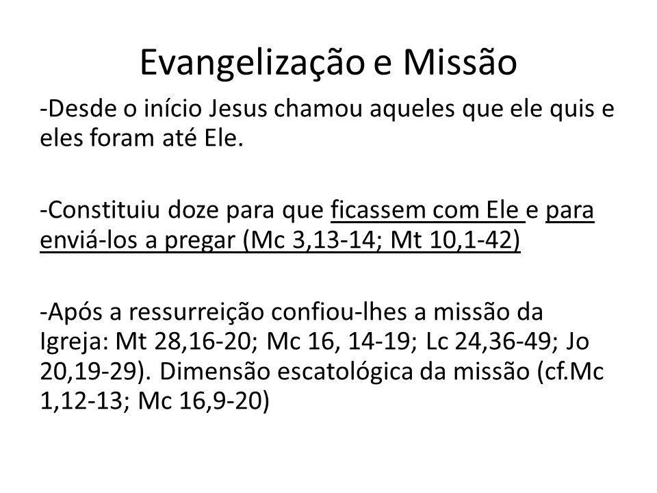 Evangelização e Missão