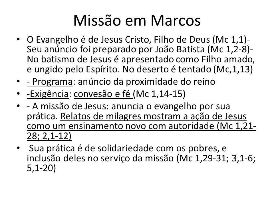 Missão em Marcos