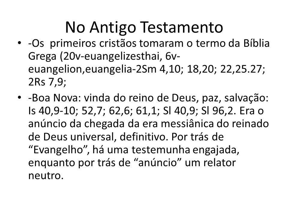 No Antigo Testamento