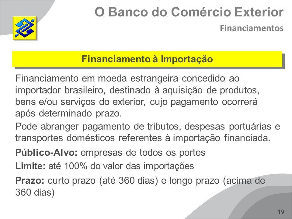 Financiamento à Importação
