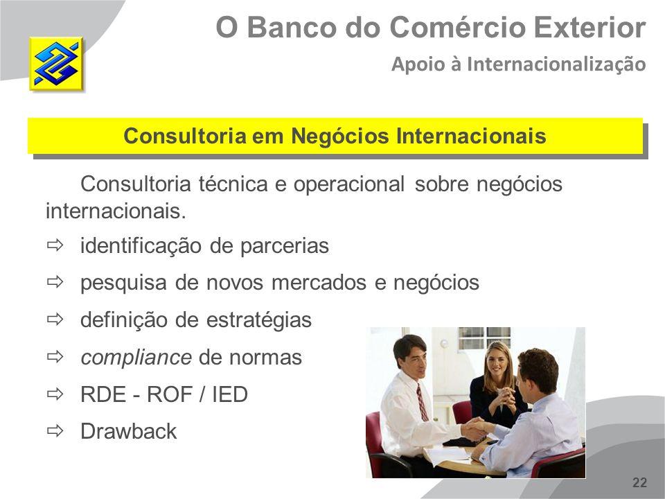 Consultoria em Negócios Internacionais