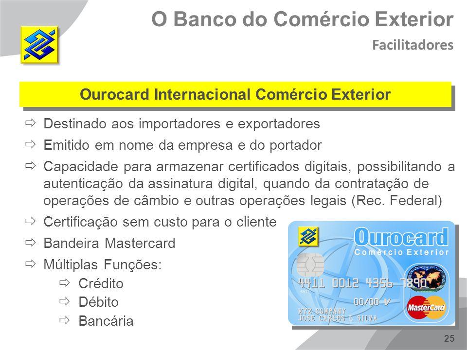 Ourocard Internacional Comércio Exterior