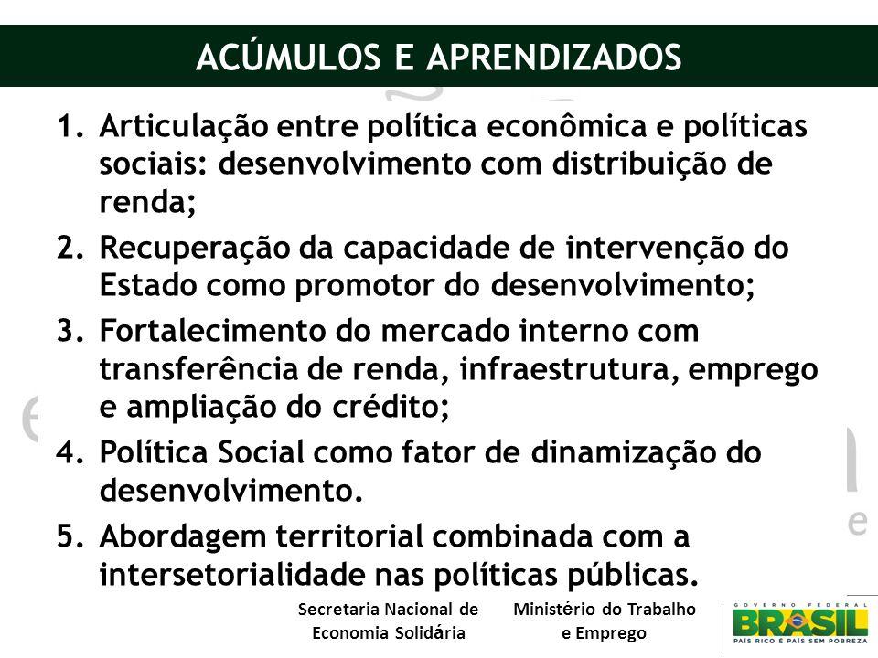 ACÚMULOS E APRENDIZADOS