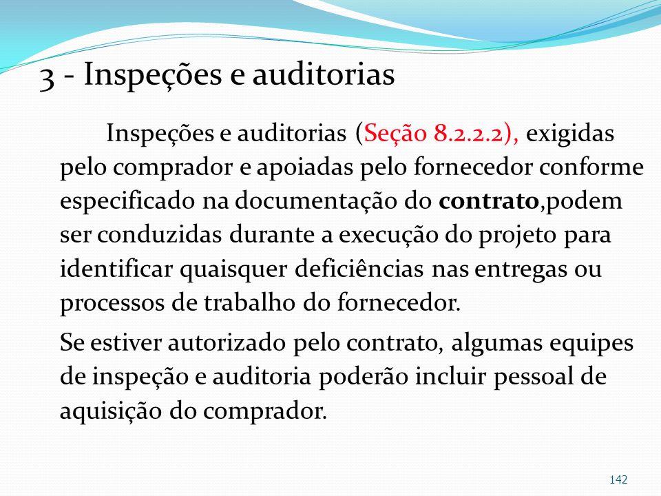 3 - Inspeções e auditorias