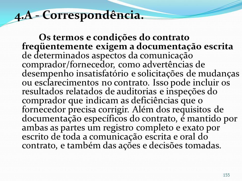 4.A - Correspondência.