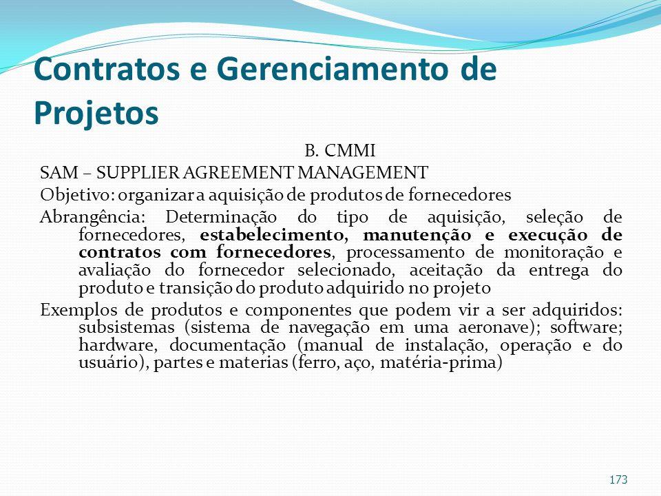 Contratos e Gerenciamento de Projetos