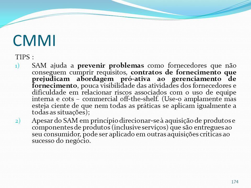 CMMI TIPS :