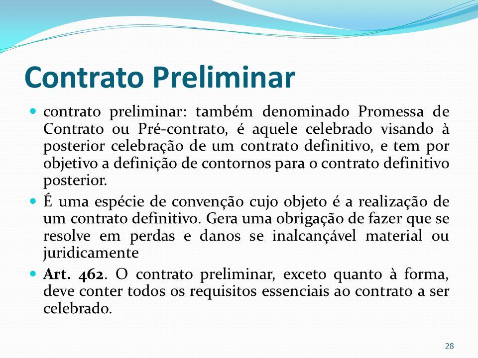 Contrato Preliminar