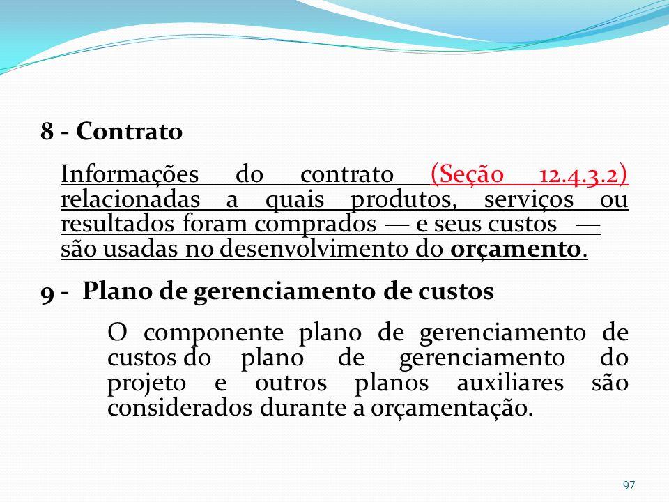 8 - Contrato Informações do contrato (Seção 12. 4. 3