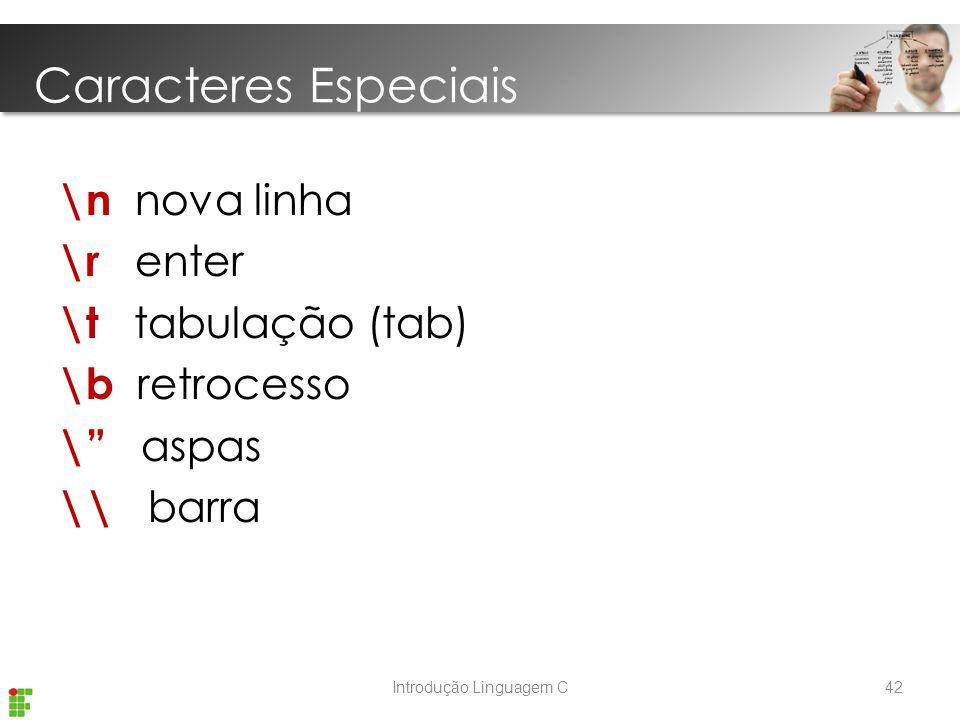 Introdução Linguagem C