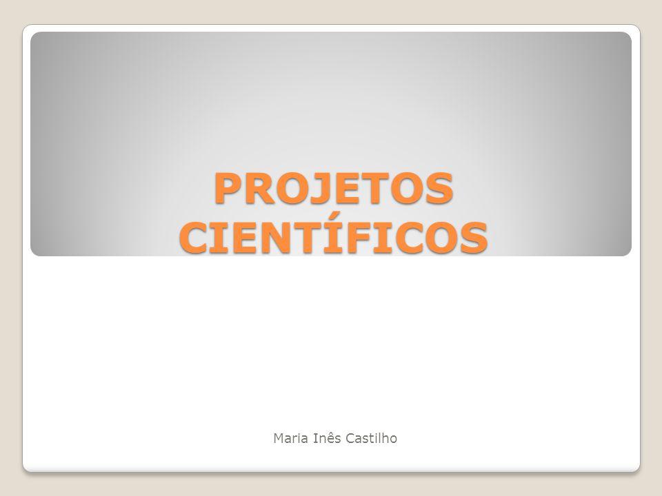 PROJETOS CIENTÍFICOS Maria Inês Castilho