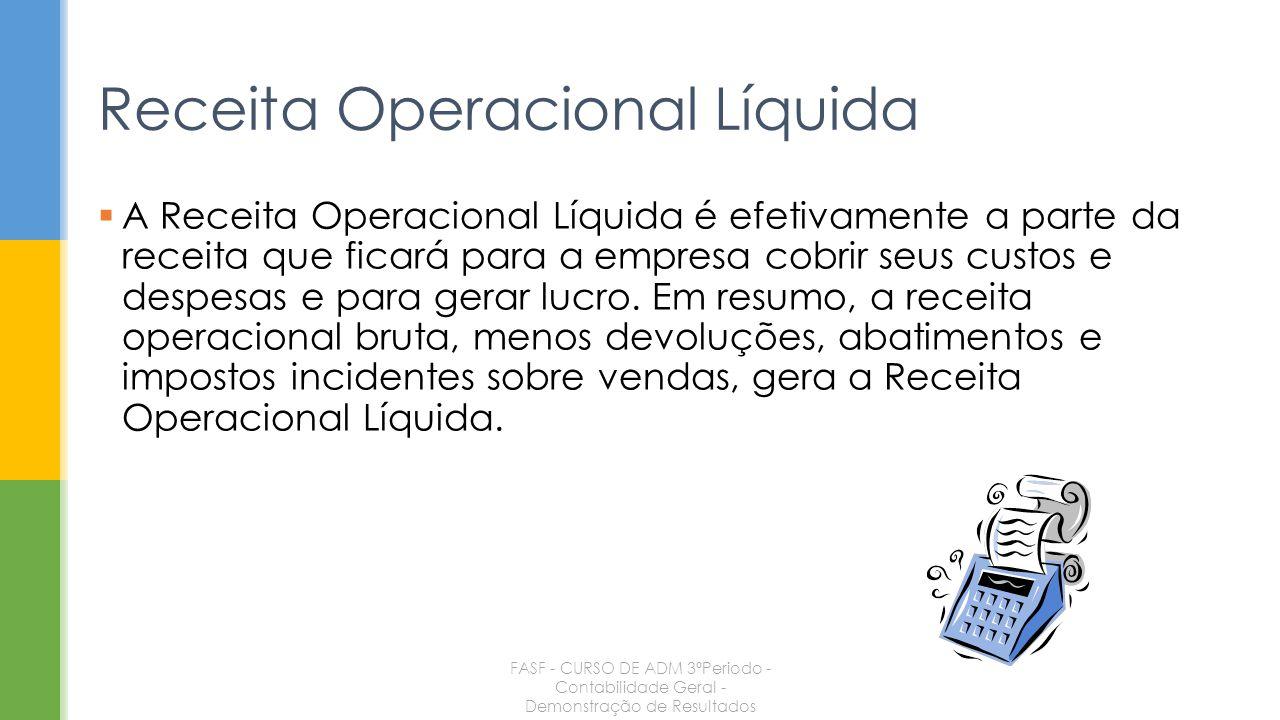 Receita Operacional Líquida