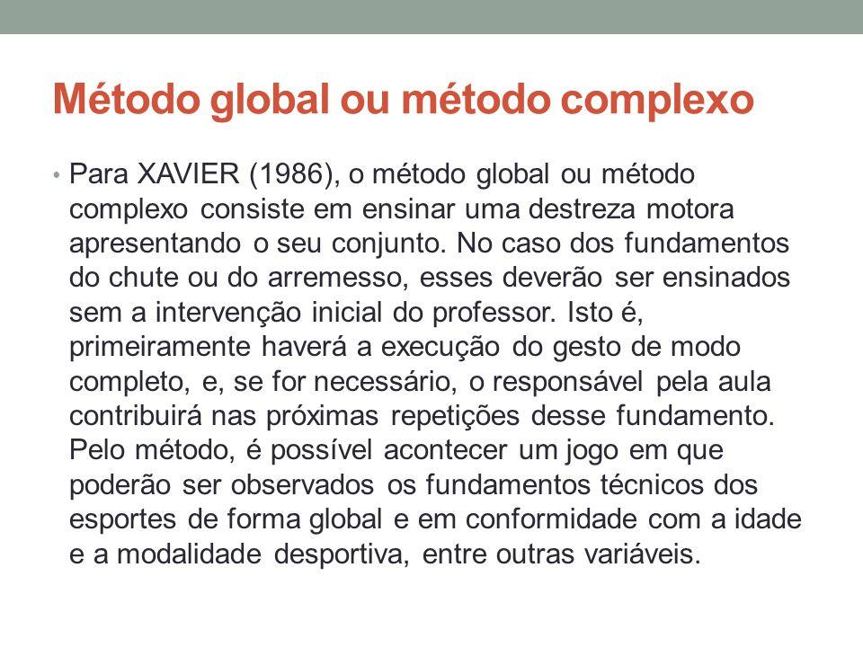 Método global ou método complexo