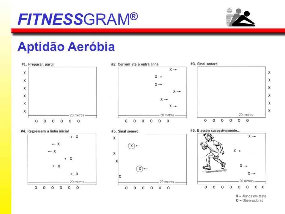 FITNESSGRAM® Aptidão Aeróbia