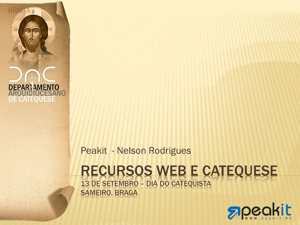 Peakit - Nelson Rodrigues