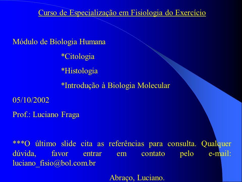 Curso de Especialização em Fisiologia do Exercício