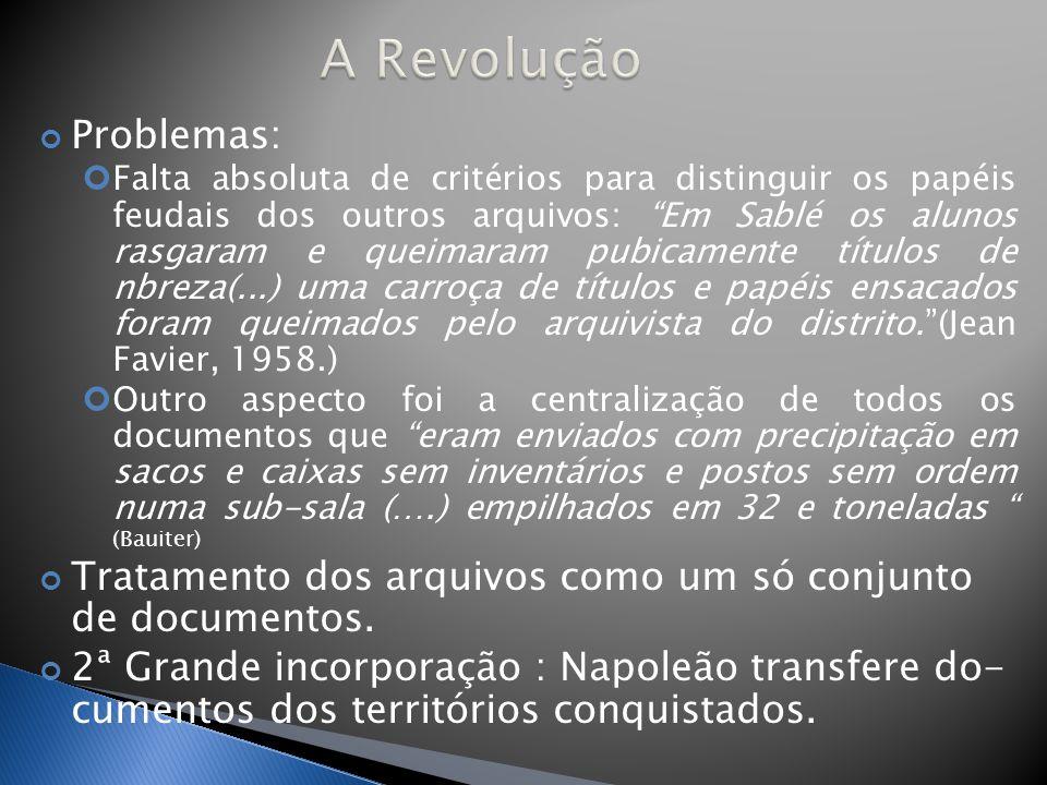 A Revolução Problemas: