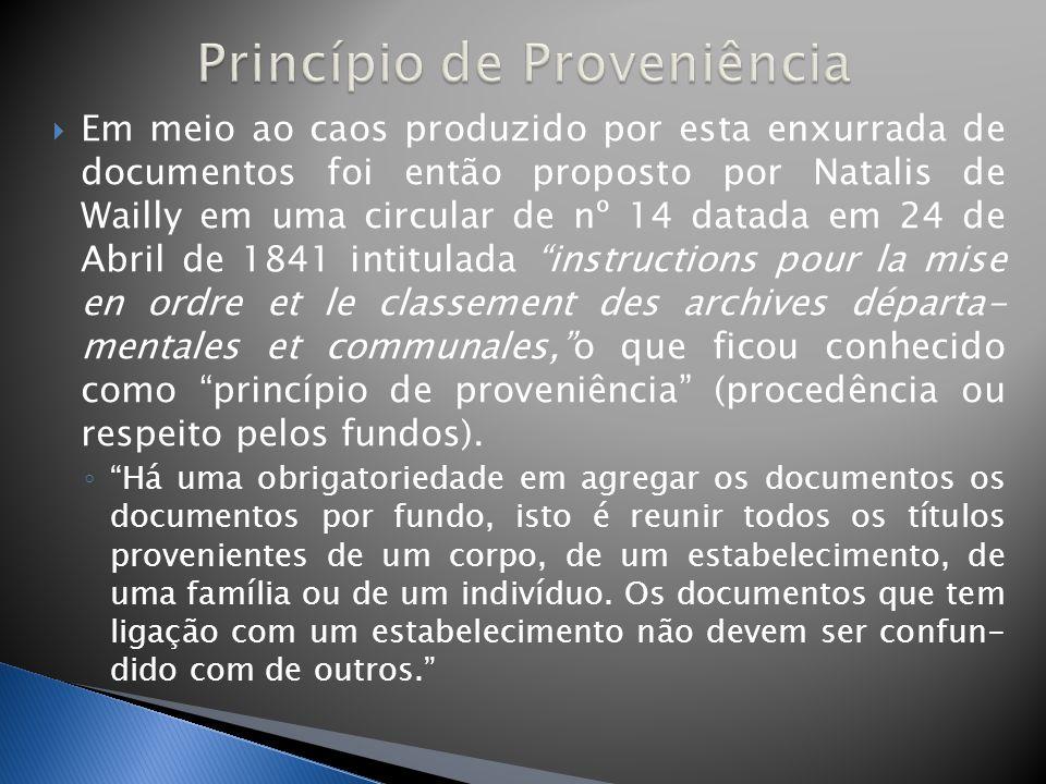 Princípio de Proveniência