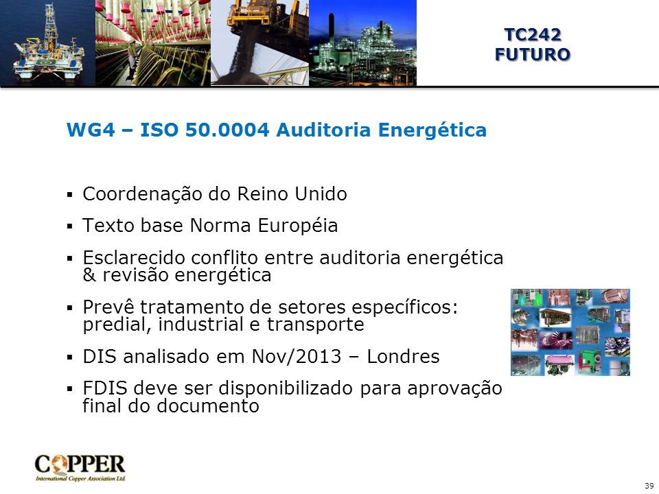 WG4 – ISO 50.0004 Auditoria Energética