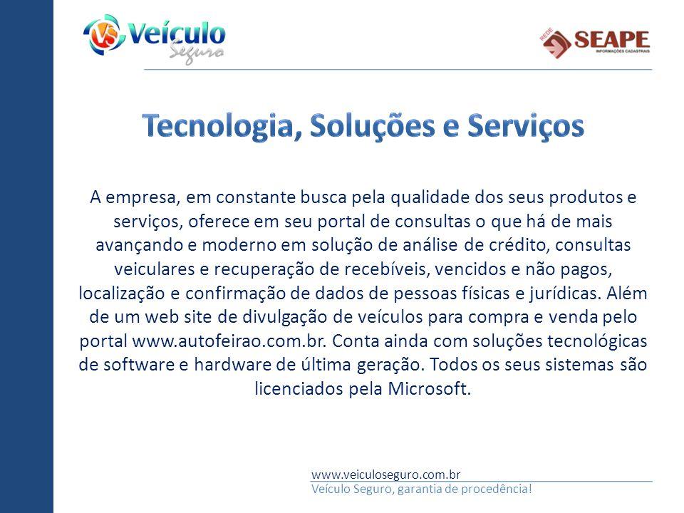 Tecnologia, Soluções e Serviços