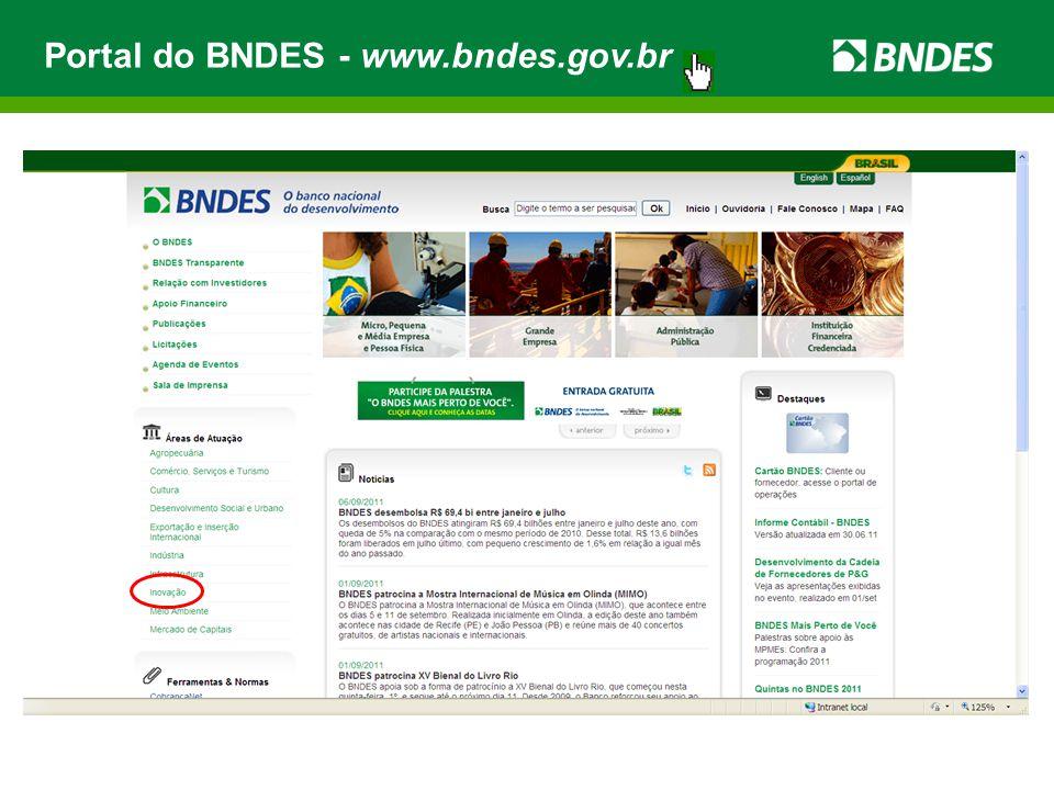Portal do BNDES - www.bndes.gov.br