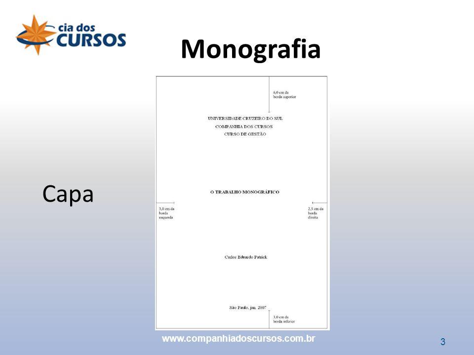 Monografia Capa www.companhiadoscursos.com.br 3 3