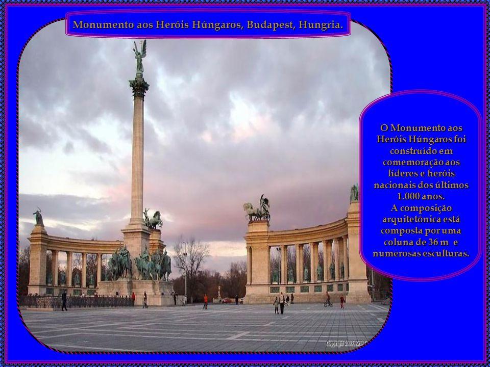 Monumento aos Heróis Húngaros, Budapest, Hungria.