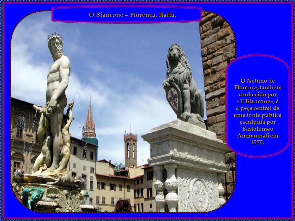 O Netuno de Florença, também conhecido por
