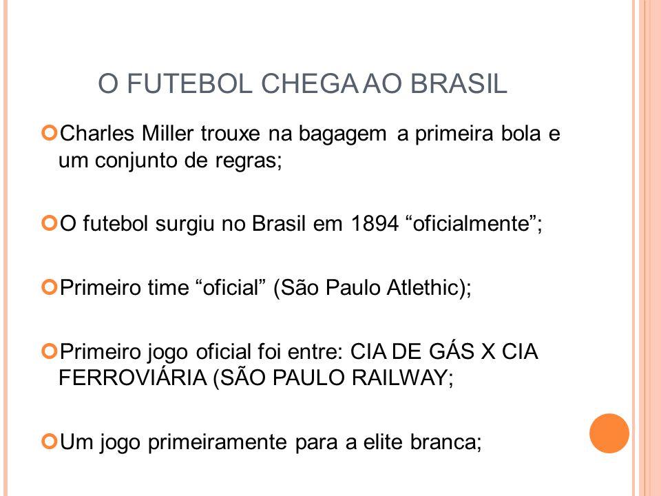 O FUTEBOL CHEGA AO BRASIL