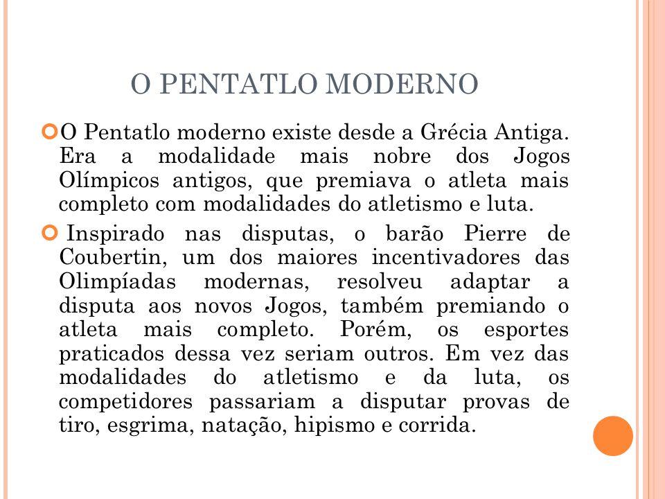 O PENTATLO MODERNO