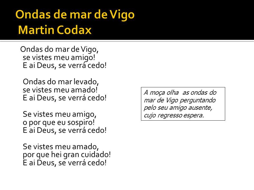 Ondas de mar de Vigo Martin Codax