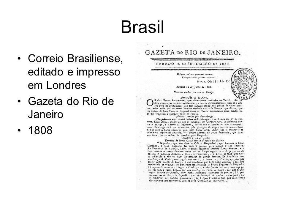 Brasil Correio Brasiliense, editado e impresso em Londres