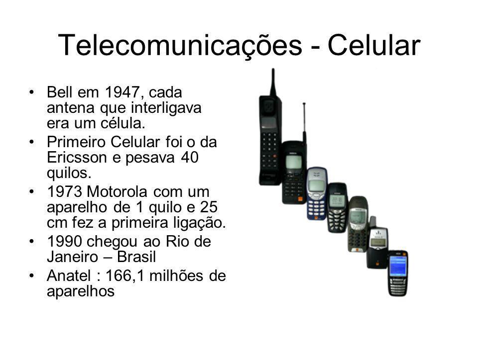 Telecomunicações - Celular