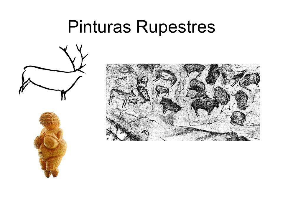 Pinturas Rupestres 40 mil anos a 10 mil anos