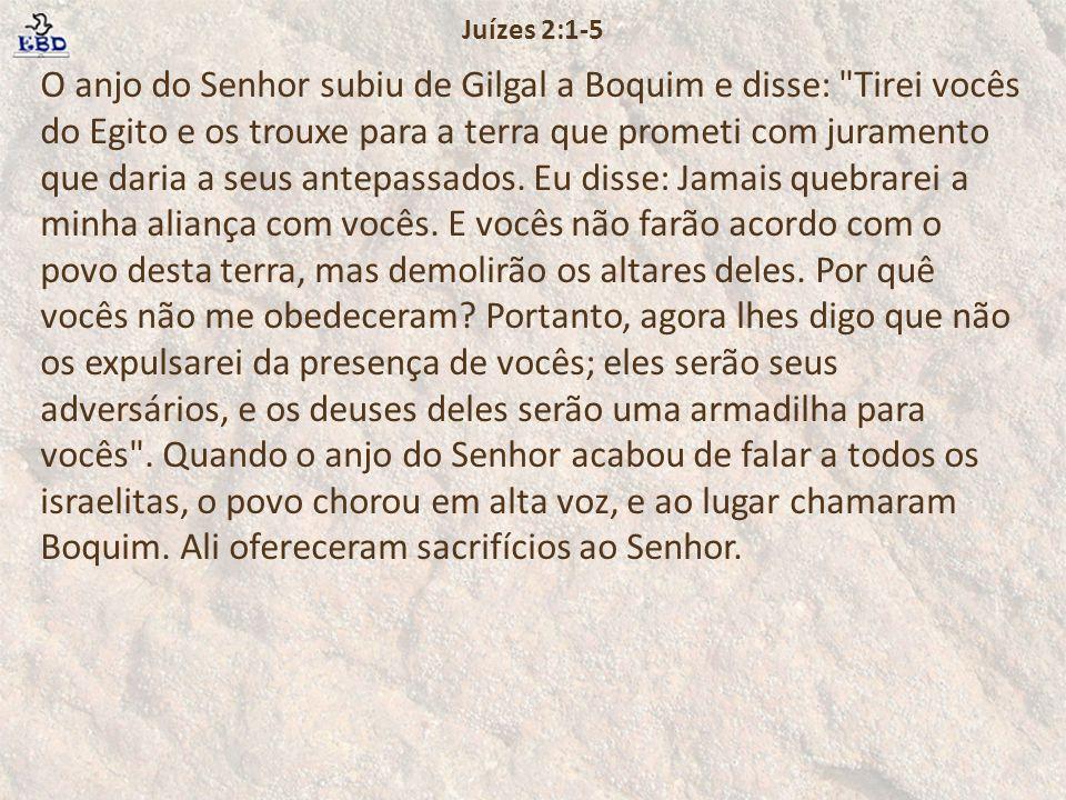 Juízes 2:1-5