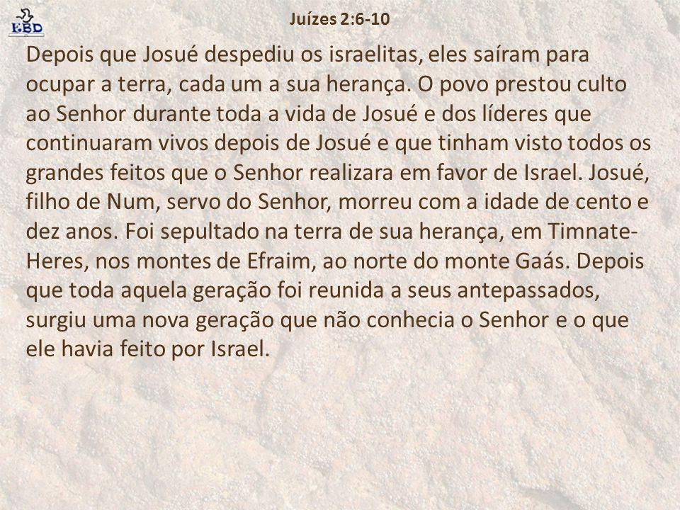 Juízes 2:6-10