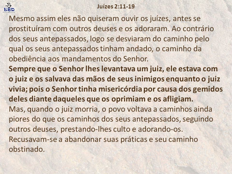 Juízes 2:11-19